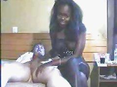 black hooker hand job 2