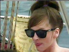KRISTA FUCKS ON BOAT HARD BUTTS - JP SPL