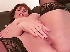 Brunette Houswife with Big Tits