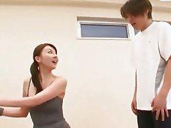 Mosaic Yui Tatsumi - Gym Girl