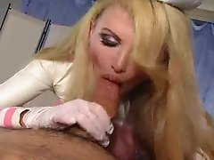 Nurse Taylor Makes you blow JOI