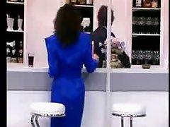 Teresa visit a public Bar