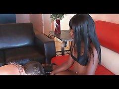 White Slave Cum For Black Mistresses