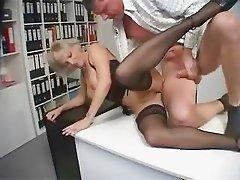 Blonde MILF Secretary Fucked