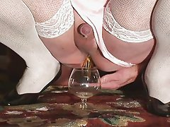 Crossdresser Punishment Milking