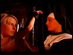 Slave girl gets tied up and punished