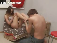 Ivanas suck toes and fuck at motel