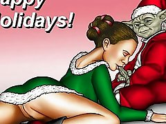 Famous cartoon heroes Christmas sex