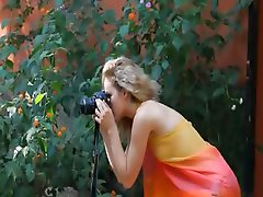 hot blonde Madonna photographer