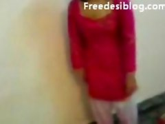 Cute Indian Girl Change Clothes