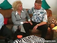 Two old milfs are getting their wet part1