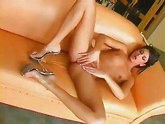 stunning arab girl fucks a dildo pt 2