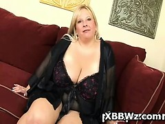 Amazing Hardcore Crazy BBW Chick Pegged