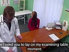 Doctor fucks his super sexy patient