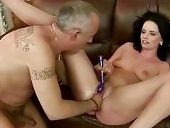 Sexy bitch gets fisted hard