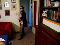 italian mature lady in dance