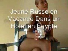 JEUNE RUSSE EN VACANCE EN EGYPTE - DVXX