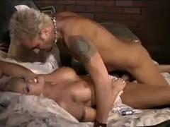 smoking hot blonde takes a cock up her fuckin' gash!