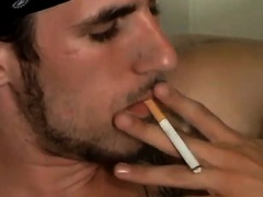 Gay men porn videos in low quality first time Buddies Smoke
