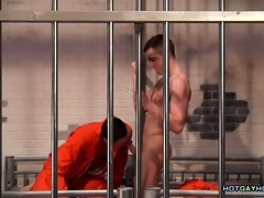Amazing Prison Cell Gay Sex