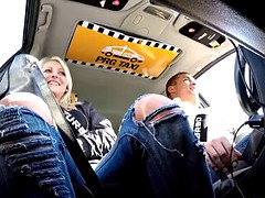 incredible reality - strangers voyeurs to watch the Czech taxi