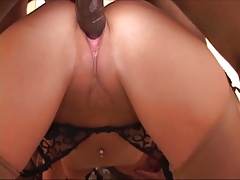 BBC3- Her first black cock high heels and a hotel.