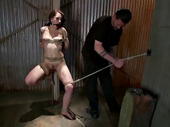 sadist with rope & submissive broad