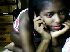 Ebony Teen Girl Teasing