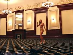 naked striptease dance hotel
