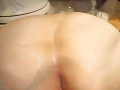 8cm diameter dildo fucking my asshole and shoot camera down