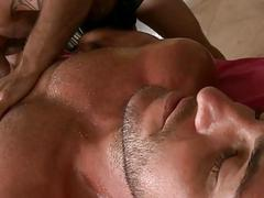 Hunk acquires a orallservice delight from twink
