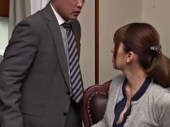 japanese hottie yui hatano having her throbbing pussy boinked