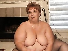 Interview with a BBW slut in black stockings