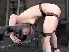 Bondage experts destroys cute little slut Casey Calvert BDSM porn