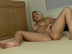 Her wet pussy is throbbing with need for a cock