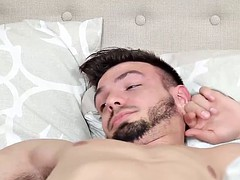 Laki Deniels seduces him directly in the guest fuck him