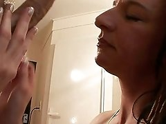 Hot bubble butt retro milf does deep blowjob in vintage pov porn video
