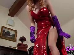 COSPLAY BABES Jessica Rabbit Solo Cosplay
