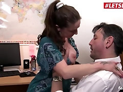 LETSDOEIT - German Wifey Joins Assistant Into Penetrating her Manager
