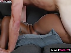 Huge Black Tush Chanell Heart Gets Fucked