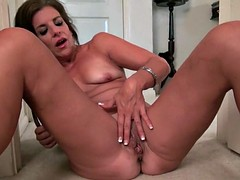 Katrina milf comes home and needs to relax