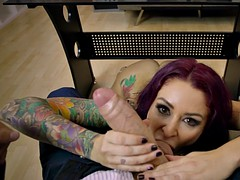 monique alexander sucking gigantic rod in pov