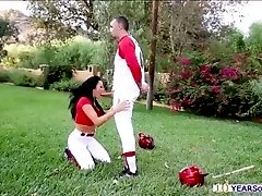 Thick and juicy ass gets good spanking and doggy style fuck by a hard cock