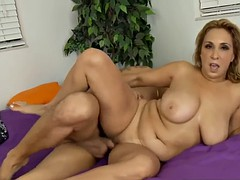 sweet new mom sophia jewel gives titjob hot touching step son
