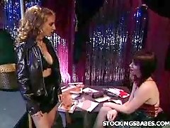Strippers in Lingeries Doing a Show