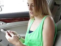 Pretty Jenna Marie nailed by stranger