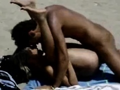Amateur Public Beach Sex And Frigging Fun