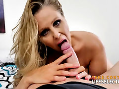 A super-hot one-on-one sesh with Julia Ann POINT OF VIEW