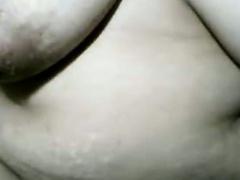 Fat Asian MILF Loving Her Dildo