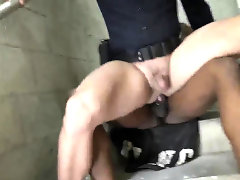 Sex gay police porno Fucking the white cop with some